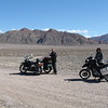 Warren Barnes and Wynne Benti at Ashford Mill, about to ride the West Side Road, Death Valley. (Photo: Wynne Benti)