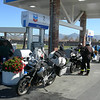 Gas stop in Hollister
