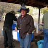 Ted Crum. Yes, there is a story behind the hat!