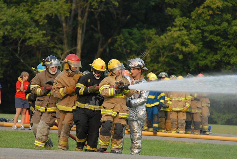 Junior Firefighter Camp at Jackson's Mill