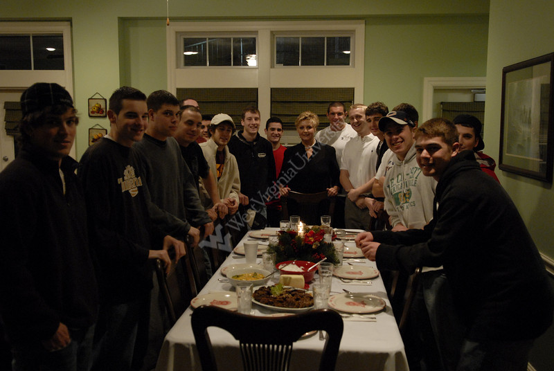 Kappa Alpha House - Dinner and House Director Portrait
