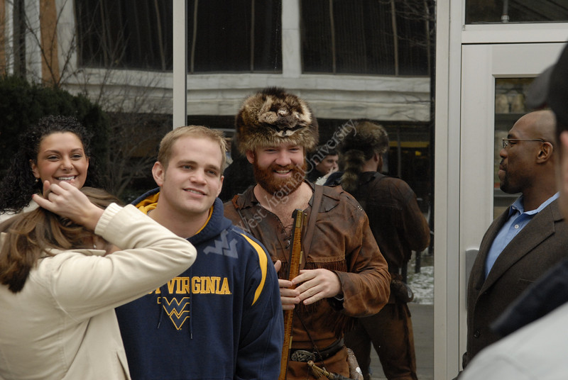 WVU Students for Fiesta Bowl Pre Game and Mike Garrison interview