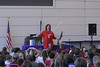 NASA Day in the park with Astronaut and students
