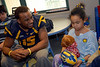 Football Players with Kids