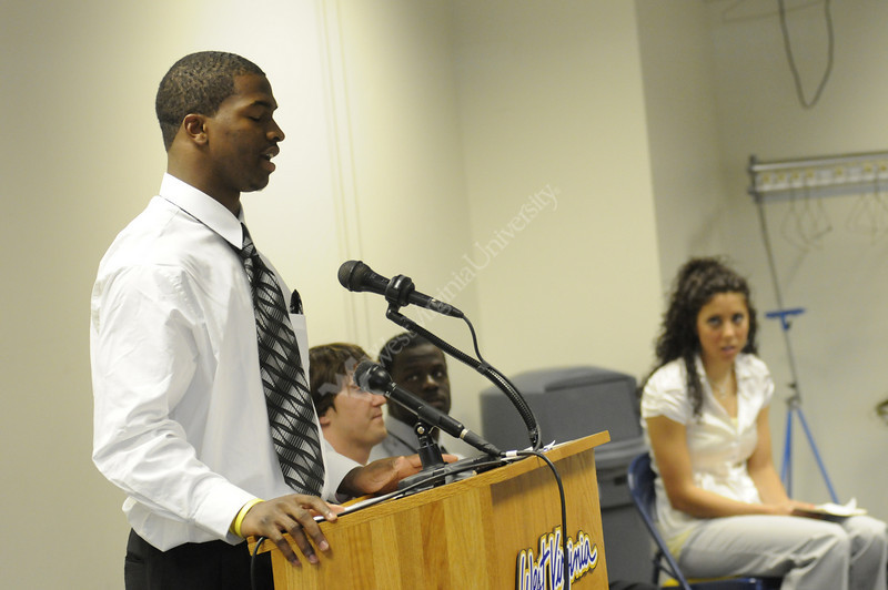 Student Athletes Speak out 2008