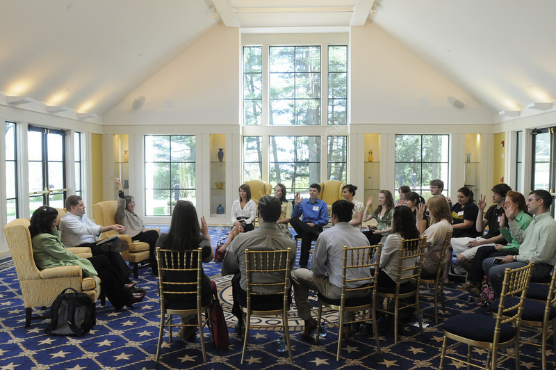Honors Book Club Meeting at Blaney House