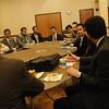 Saudi Visit conversation and President Garrison
