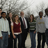 Engineering Group photo with dean