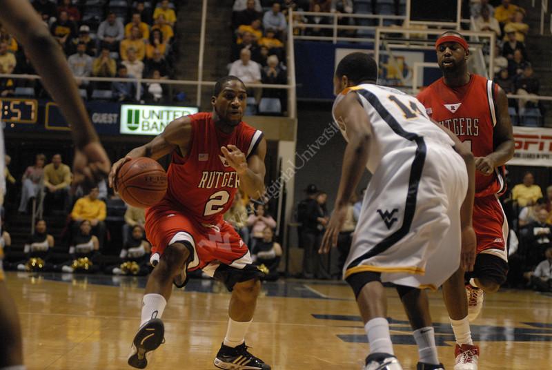 WVU Men's Basketball vs. Rutgers