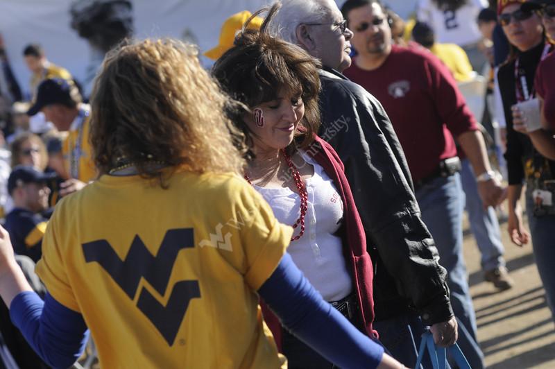 Festia Bowl WVU vs OKU action and fan pre game party