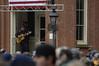 Bill Clinton speaking at Woodburn Circle