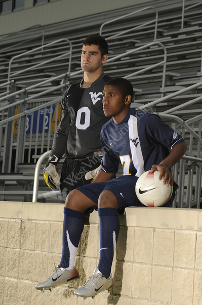2008 Mens Soccer Media Guide Cover