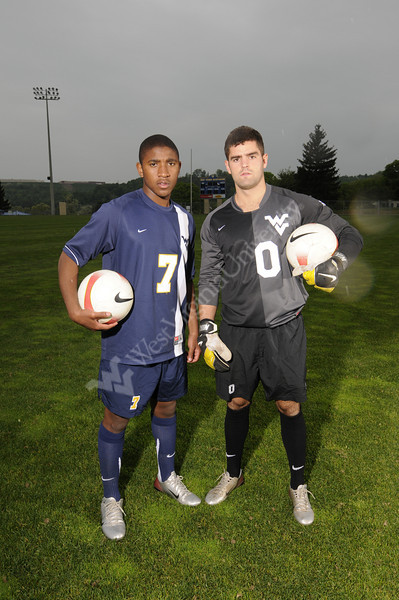 2008 Mens Soccer Media Guide Cover