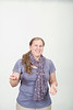WVU Student Katrina Lawrence poses for photos at the WVU OWF studio, April  2011. (WVU Photo/Todd Latocha)