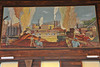 Photos of the WVU Jacksons Mill restored West Virginia building displaying wall murals commissioned by the Works Progress Administration during the 1930s and the Great Depression WVU Jacksons Mill, August 2011. (WVU Photo/Todd Latocha)