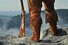 WVU National spot photo shoot at Raven Rock, Coopers Rock state park WV., August 2011. (WVU Photo/Greg Ellis)