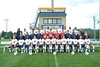 WVU Men's Soccer team member pose for photos at Dick Dlesk Stadium evansdale campus, August 2011. (WVU Photo/Allison Toffle)