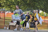 WVU students move into their dorm rooms at WVU Towers residence complex evansdale campus  with the aid of parents student volunteers and housing staff, August 2011. (WVU Photo/Brian Persinger)