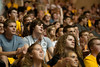 WVU freshmen students take part in the WVU new student welcome WVU coliseum evansdale campus , August 2011. (WVU Photo)