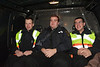 WVU University Police student cadets interact with the WVU community developing their skills,  December 2011. (WVU Photo/Jake Lambuth)