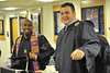 WVU Athletes take part in the WVU December Convocation Reception at the WVU Coliseum before graduation, December 2011. (WVU Photo?Greg Ellis)