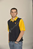 Conor McNamara WVU VRC tour guide poses for a portrait at the OWF studio, December 2011. (WVU Photo/Brian Persinger)