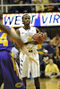 28055 WVU Men's Basketball vs Tennessee Tech action WVU Coliseum December 2011 (WVU Photo/Greg Ellis)