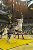 28055 WVU Men's Basketball vs Tennessee Tech action WVU Coliseum December 2011 (WVU Photo/Greg Ellis)