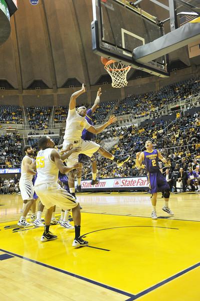 WVU vs. tennessee Tech basketball, WVU coliseum, 12/19/2011