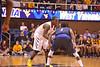 28057 WVU Men's Basketball vs Texas A&M  action WVU Coliseum December 2011 (WVU Photo/Jake Lambuth)