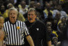WVU Men's Basketball vs Villanova action at the WVU Coliseum December 2011(WVU Photo/Brian Persinger)