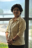 WVU Professor Shika Sharma Ph.D. Associate Professor Director; IsoBioGeM Laboratory, Geology, Geography, Eblery College poses for photos at Brooks Hall downtown campus, July 2011. (WVU Photo/Greg Ellis)