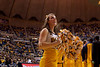 WVU cheerleaders, cheerleader, photographer Jake Lambuth, WVU Vs. Uconn, basketball