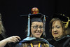 WVU College Of Human Resource and Education graduates take part in their commencement at the WVU Coliseum, May 2011 (WVU Photo Brian/Persinger)