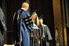 WVU CAC graduates take part in their commencement at the WVU CAC Evansdale campus , May 2011. (WVU Photo/Greg Ellis)