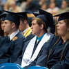 WVU  College of Business and  Economics graduates take part in their commencement at the WVU Coliseum evansdale campus, May 2011. (WVU Photo/ Todd Latocha)