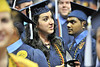 WVU Eblery College graduates take part in their commencement  at the WVU Coliseum Evansdale campus, Mau 2011. (WVU Photo/Greg Ellis)