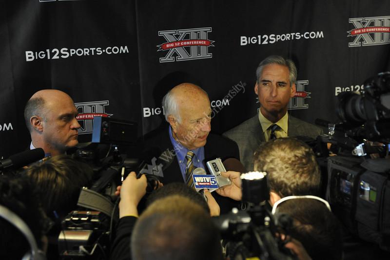 WVU Big 12 Announcement at Touchdown Terrace Puskar Stadium evansdale campus,  November 2011. (WVU Photo/Greg Ellis)