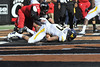 28003 WVU Football vs Cincinnati game action at Cincinnati, November 2011.(WVU Photo/Greg Ellis)