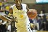 WVU Men's Basketball vs Alcorn State  game action WVU Coliseum evansdale campus, November 2011 (WVU Photo/Greg Ellis)