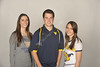 WVU VRC Tour Guides poses for portraits at the OWF studio, November 2011 (WVU Photo/Brian Persinger)