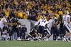 28027 WVU Football vs Pitt in the backyard brawl game action, November 2011.
