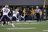 28027 WVU Football vs Pitt in the backyard brawl game action, November 2011.