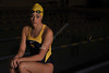 WVU Swimmers and divers pose for media guide  photos at the WVU Natatorium  evansdale campus , October 2011. (WVU Photo/Brian Persinger)