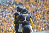 WVU Football vs UCONN game action Puskar Stadium Mountaineer field evansdale campus, October 2011. (WVU Photo/Allison Toffle)