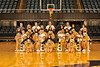 Members of the WVU Cheer and Dance Team  pose for photos at the WVU Coliseum evansdale campus, October 2011. (WVU Photo/Jake Lambuth)