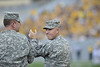 Gameday activities, 911, anniversary, 911 anniversary, mountaineer field, law enforcement, military