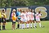 WVU Women's Soccer vs Marquette Dick Dlesk Soccer Stadium evansdale campus, September 2011. (WVU Photo/Allison Toffle)
