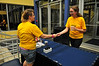WVU students take part in WVU Up All Night activities at the Mountainlair as a positive alternative to Morgantown High Street nightlife, September 2011. (WVU Photo/Jake Lambuth)