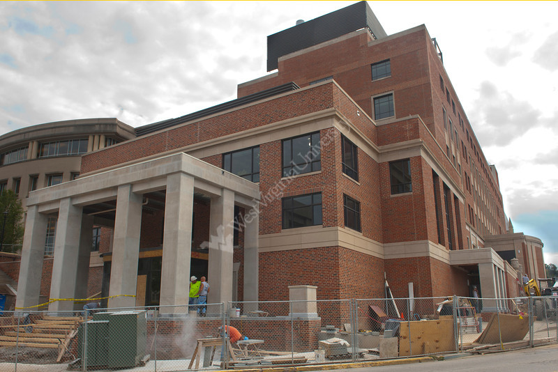 WVU buildings and athletic fields on the  WVU Evansdale and downtown campuses for marketing, September 2011. (WVU Photo)